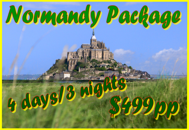 Normandy Package Fil Franck Tours, Landing beaches, Bayeux